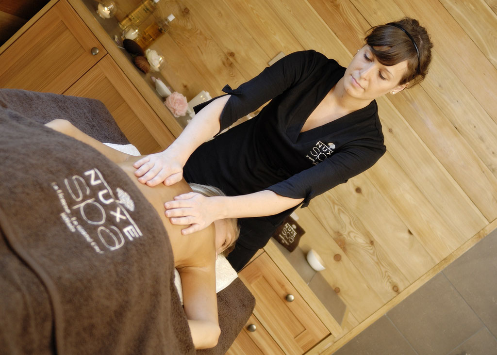Massage spa nuxe normandie
